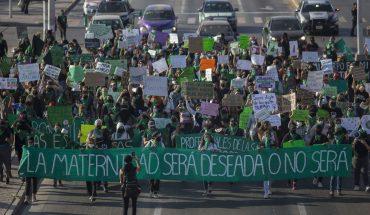 Detienen a 8 mujeres en manifestación del 28S en Tijuana; una está desaparecida