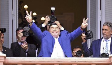 Diego Maradona pidió la aprobación del impuesto a las grandes fortunas