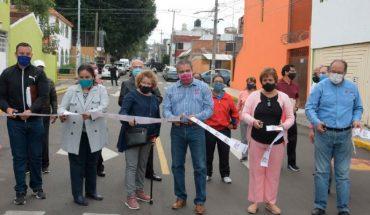 Edil de Morelia inaugura reencarpetamiento Xangari, llevaba 40 años sin tratamiento