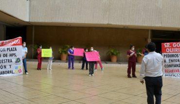 Enfermeras del Pediátrico de Sinaloa exigen basificación