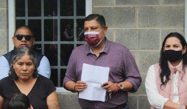 Entrega Ignacio Campos pie de casa a familia vulnerable