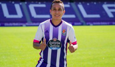 """Fabián Orellana y su arribo al Valladolid: """"La idea era seguir en España"""""""
