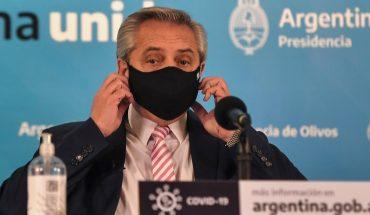 """Fernández: """"El día que pase va a haber un banderazo de los argentinos de bien"""""""