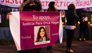 Fiscalía informa reapertura de la indagatoria por la muerte de Erica Hagan