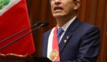Gobierno Perú denuncia a Congreso de buscar involucrar a FFAA en pedido destitución de Vizcarra