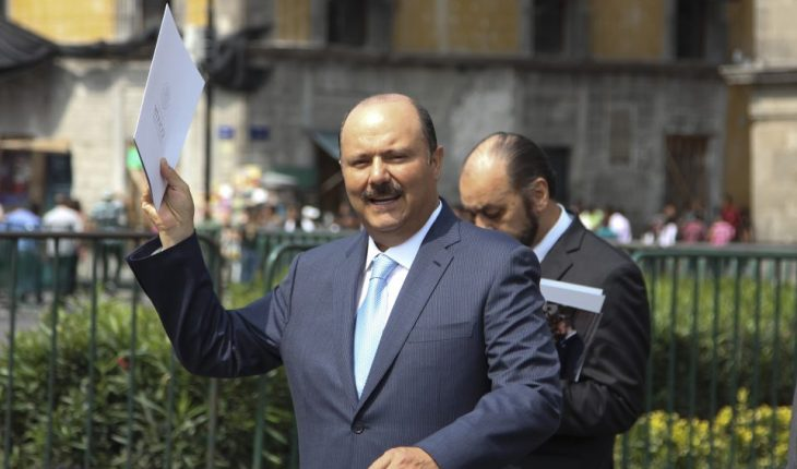Gobierno de EU presenta ante corte solicitud para extraditar a César Duarte