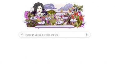 Google dedica su Doodle a la poeta Mascha Kaléko
