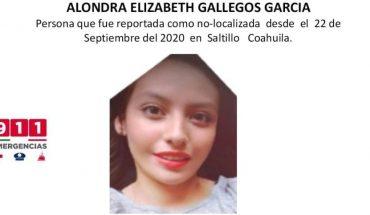 Hallan cuerpo de joven desaparecida en Saltillo, Coahuila