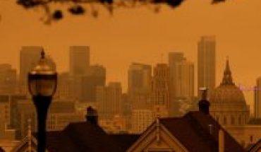 Incendios en California: el humo y la niebla cubren San Francisco de un cielo naranja apocalíptico
