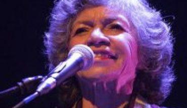 Isabel Parra estrenó una nueva canción dedicada al 18 de octubre