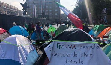Juez da amparo a Frena para ir al Zócalo; se alistan para mover protesta