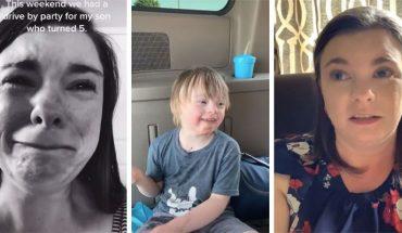 Madre llora porque solo un niño fue al cumpleaños de su hijo con síndrome de Down (Video)