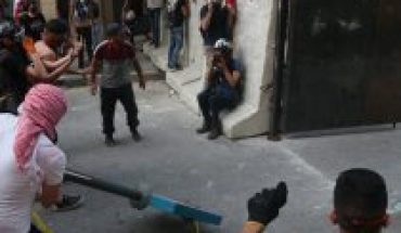Manifestantes protestan en Beirut tras designación del primer ministro