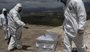 México suma 534 muertes por COVID-19 y supera las 70 mil defunciones