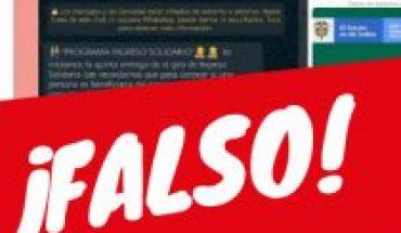 """Ministerio de Desarrollo Social advierte de intento de estafa vía WhatsApp y Facebook con falso """"Programa Ingreso Solidario"""""""