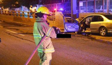Muere conductor tras choque en Mazatlán, Sinaloa