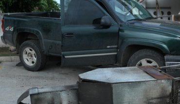 Muere hombre arrollado por camioneta que se estrelló contra local en Culiacán