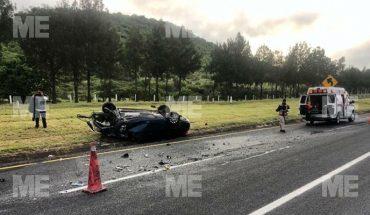 Mujer fallece en accidente vial en la Autopista de Occidente