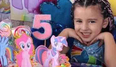 Natalia vive feliz sus 5 años