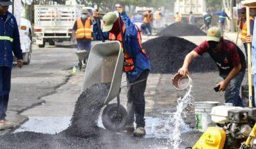 Por lluvias, refuerzan programa de bacheo de vialidades en Mazatlán