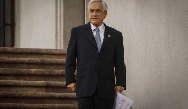 """Presidente Piñera: """"Estamos viendo cómo nuestro país empieza a ponerse de pie nuevamente"""""""