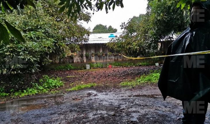 Privan de la vida a 4 integrantes de una familia, en Tancítaro