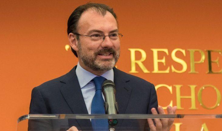 Rector y decanos defienden permanencia de Luis Videgaray en el MIT
