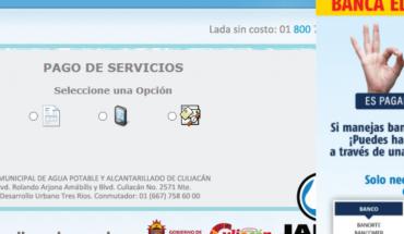Se cuadriplica el pago en línea del recibo de Japac