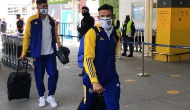 Sin Russo, Boca partió rumbo a Colombia pensando en la clasificación