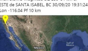 Sismo de 5.2 grados sacude el norte de Baja California