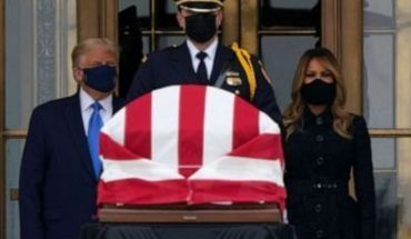 Trump es abucheado en el funeral de la jueza Ginsburg