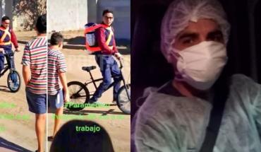 Un paramédico recorría 100 km para llegar al trabajo, le donaron una moto y lo despidieron