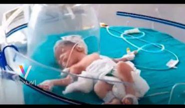 Abandonan a bebé en alcantarilla | Vivalavi