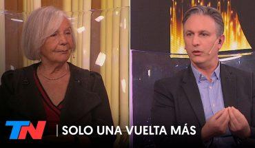 """Beatriz Sarlo: """"Pensé que Alberto no iba a rifar su destino político a la obediencia de Cristina"""""""