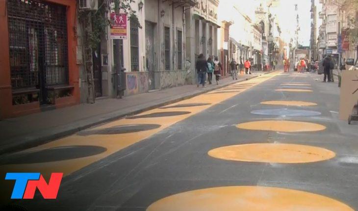Crean 15 nuevas áreas peatonales en la Ciudad: es para facilitar el consumo en espacios públicos