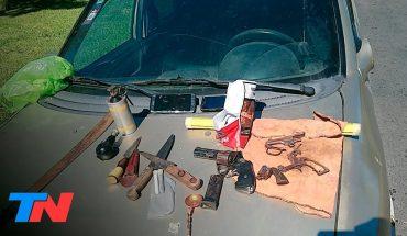 Ensenada: evadió un control y encontraron una granada activa en su auto