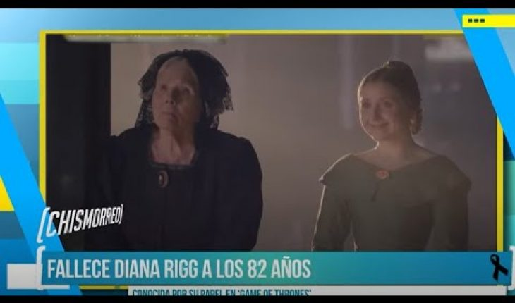 "Fallece Diana Rigg, conocida por ""Game Of Thrones"" 