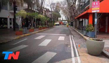 La Ciudad habilita peatonales para facilitar el comercio y bares y restaurantes al aire libre