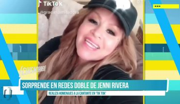 La doble de Jenni Rivera sorprende en Tik Tok | El Chismorreo