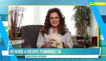 Mara Patricia defiende a Vicente Fernández Jr. | El Chismorreo