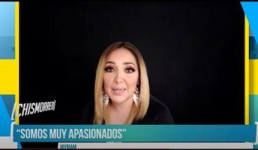 Myriam hará dueto con Fato | El Chismorreo