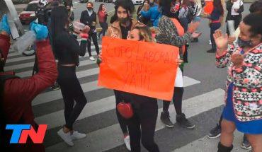 Palermo | Protesta de las trabajadoras sexuales: piden que les permitan volver a trabajar