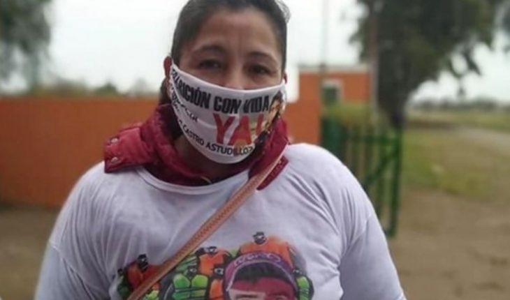 """""""Vuela alto mi niño"""": sentido mensaje de Cristina, madre de Facundo Castro"""