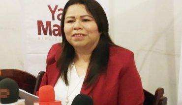 Yadira Marcos si se apunta para la gubernatura de Sinaloa