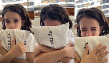 Zulemita Menem pidió la vuelta de clases presenciales con un video de su hijo