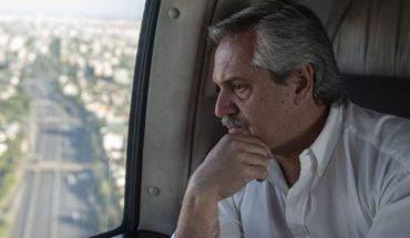 Alberto Fernandez suspended his visit to Mendoza