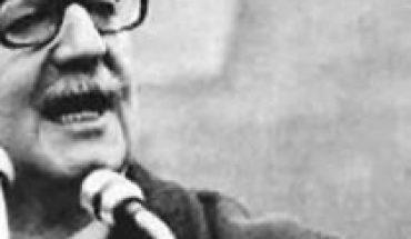 Allende Presidente!... October 24, 1970
