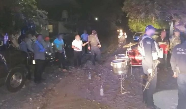 By coronavirus, 258 massive events deactivated in Michoacán