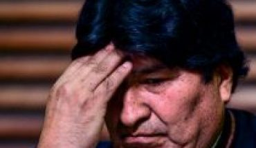Court up confirms disabling Evo Morales as Senate candidate