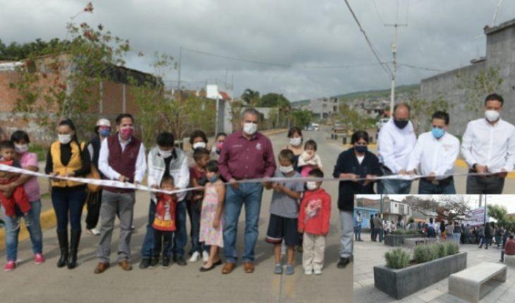 Edil de Morelia opened a public space in Ciudad Jardín